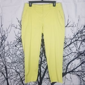 Talbots | Lime Green Ankle Pants size 8